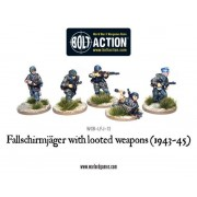 Bolt Action - Fallschirmjager with Looted Weapons (1943-45) pas cher