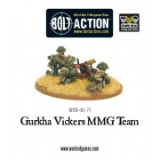 Bolt Action - Gurkha Vickers MMG Team pas cher