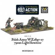 Bolt Action - Polish Army 75mm Light Artillery