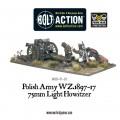 Bolt Action - Polish Army 75mm Light Artillery 1
