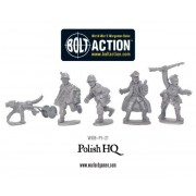 Bolt Action - Polish Army HQ pas cher