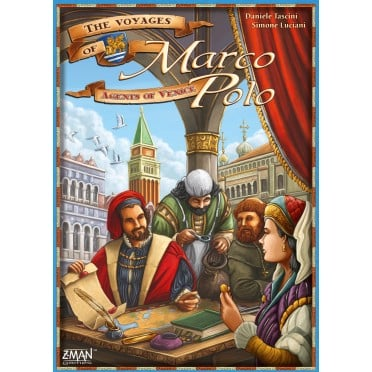 The Voyages of Marco Polo : Venice Agents Expansion