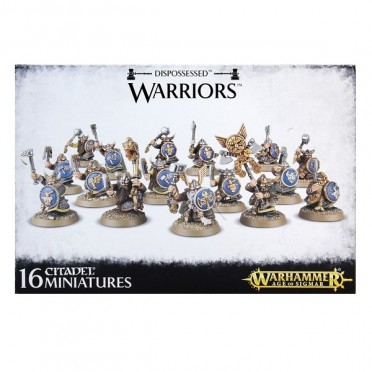 Age of Sigmar : Order - Dispossessed Warriors