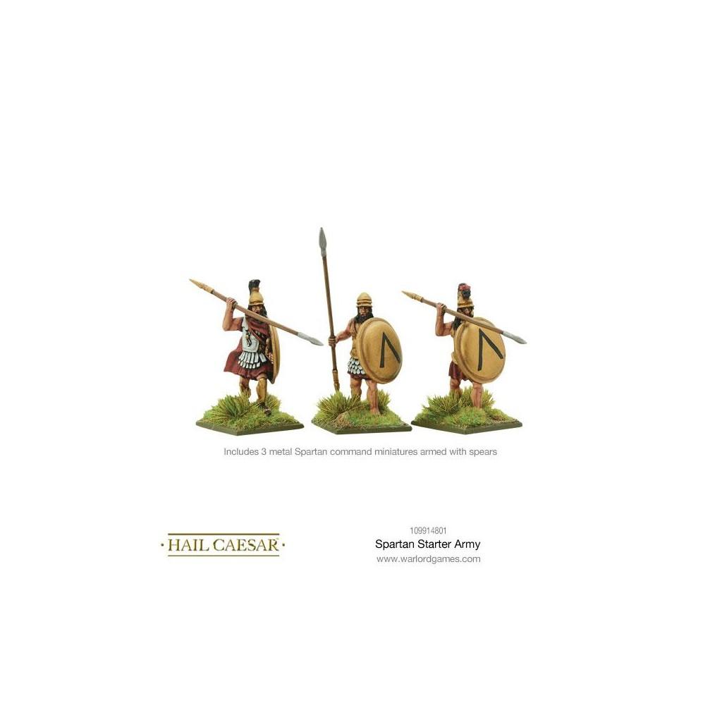 Hail Caesar Spartans Starter Army Boutique Philibert En