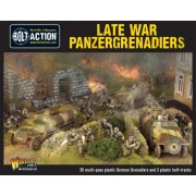 Bolt Action - Late War Panzergrenadiers pas cher
