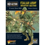 Bolt action - Italian Army Infantry Section pas cher