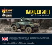 Bolt Action - Daimler Armoured Car Mk 1 pas cher