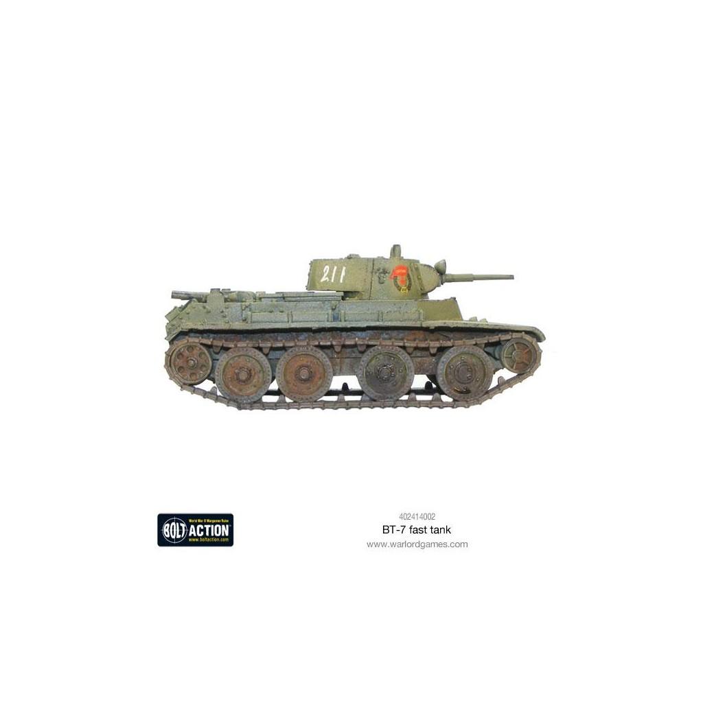 Bolt action soviet bt fast tank boutique philibert