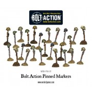 Bolt Action - Pinned Markers (25) pas cher