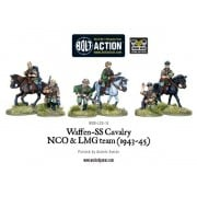Bolt Action - Waffen SS Cavalry NCO & LMG Team (1942-45) pas cher