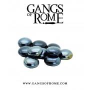 Gangs of Rome - Black Activation Pebbles (10) pas cher