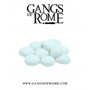 Gangs of Rome - White Activation Pebbles (10) pas cher