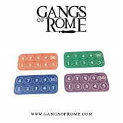 Gangs of Rome - Gang Fighter ID Markers (40) pas cher
