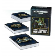 W40K : Accessoires - Cartes Techniques Heretic Astartes Thousand Sons VF