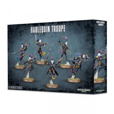 W40K : Eldars Harlequins - Harlequin Troupe