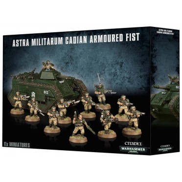 Astra Militarum Cadian Armoured Fist