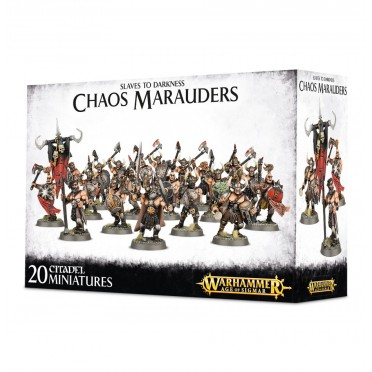 Age of Sigmar : Chaos - Slaves To Darkness Chaos Marauders