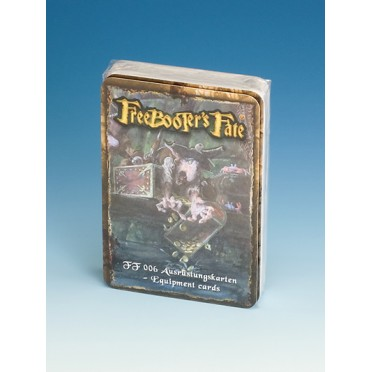 Freebooter's Fate - Equipement Cards
