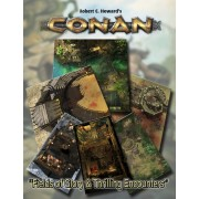 Conan - Fields of Glory & Thrilling Encounteurs Tiles Set