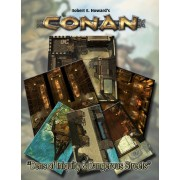 Conan - Dens of Inquity & Streets of Terror Tiles Set