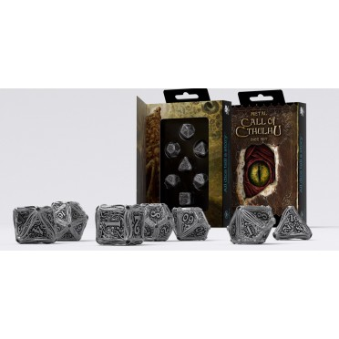 Call of Cthulhu - Metal Dice Set