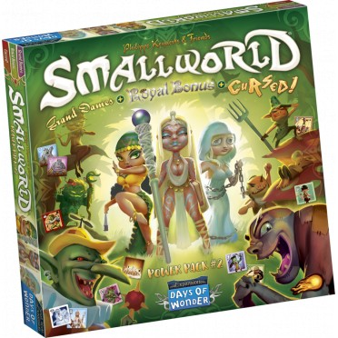 Small World: Power Pack 2 - Cursed & Grand Dames & Royal Bonus