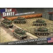 Team Yankee - M551 Sheridan Tank Platoon pas cher