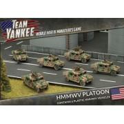 Team Yankee - HMMWV Platoon pas cher
