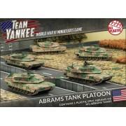 Team Yankee - Abrams Tank Platoon pas cher