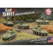 Team Yankee - LAV Platoon pas cher