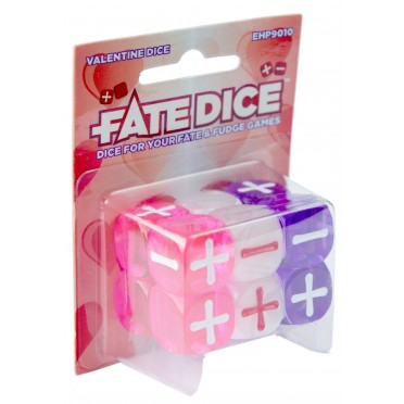 Fate Dice - Valentine
