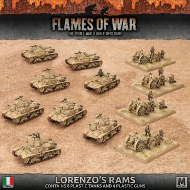 Lorenzo\'s Rams Italian Army Deal - Boutique Philibert EN