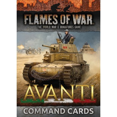 Avanti Command Cards