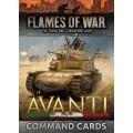 Avanti Command Cards 0