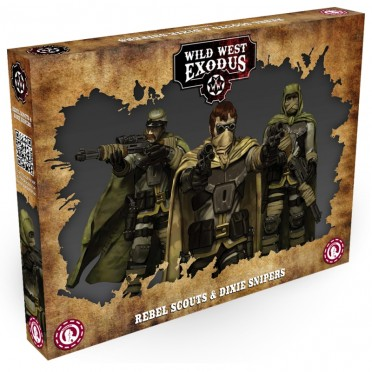 Wild West Exodus - Rebel Scouts and Dixie Snipers