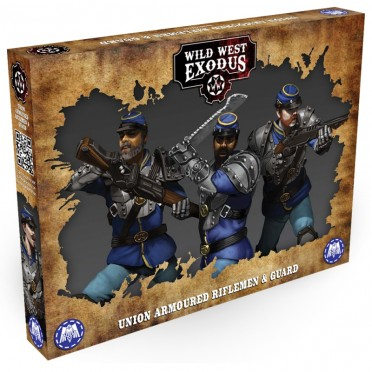 Wild West Exodus - Union Armoured Riflemenn and Guard