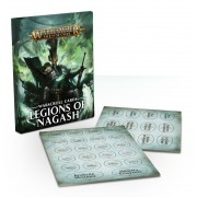 Age of Sigmar : Accessoires - Legions of Nagash Warscrolls Cards VF pas cher