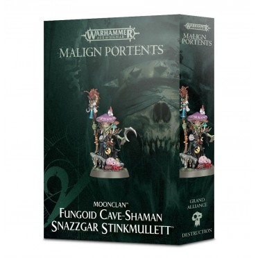 Age of Sigmar : Destruction - Fungoid Cave-Shaman Snazzgar Stinkmullett