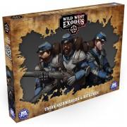 Wild West Exodus - Union Skirmishers and Riflemen pas cher