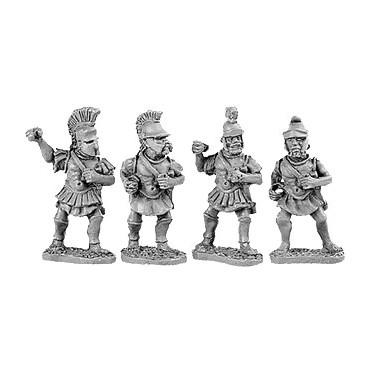 Later Hoplites in Metal Cuirass