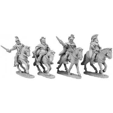 Mounted Greek Generals