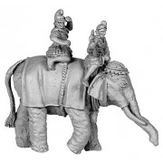 Hellenistic Elephant, with 2 crew, Pike Astride Right pas cher