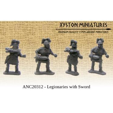 Marian Romans Legionaries with Sword