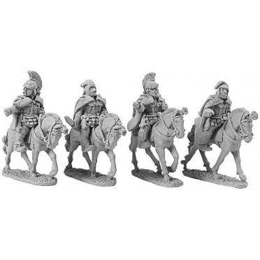 Persian Mounted Generals