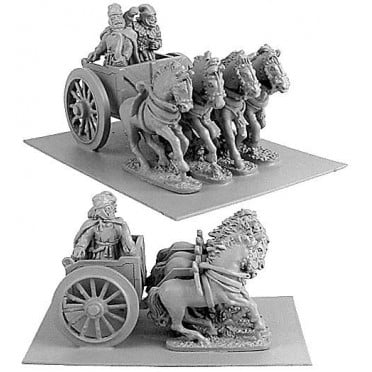 Persian General in Four-Horsed Chariot
