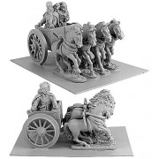 Persian General in Four-Horsed Chariot pas cher