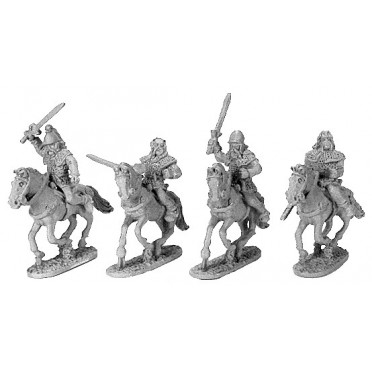 Gallic Armoured Cavalry with Shields