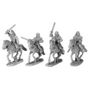 Gallic Armoured Cavalry with Shields pas cher