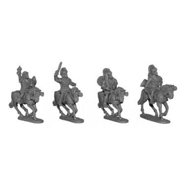 Mounted Spanish Nobles