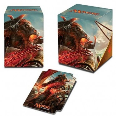 Deck Box MTG - Ixalan, Angrath, the Flame-Chained PRO 100+